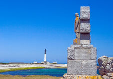 Picture of the monument dedicated to the Battle of the Atlantic Royalty Free Stock Photo