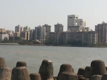 Picture of Mumbai Marine Drive. Royalty Free Stock Images