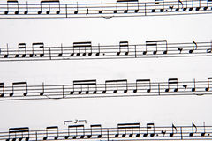 Picture of musical notes royalty free stock photos