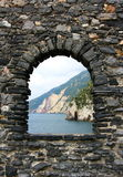 Picture of natural stone frame Royalty Free Stock Photo
