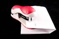 Stapler Tool. Picture of a New Paper Stapler Tool royalty free stock image