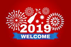Picture for the New Year. royalty free stock image