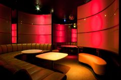 Picture of nightclub interior Stock Image