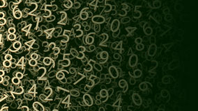Picture of numbers 01 Stock Photo