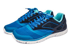Free Picture Of A Pair Of Blue Trainers Over Stock Photography - 52687962