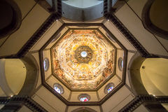 Free Picture Of The Judgment Day On The Ceiling Of Dome In Santa Mari Royalty Free Stock Images - 97017099
