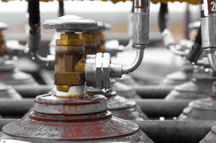 Picture off a valve with shallow dof Royalty Free Stock Photos