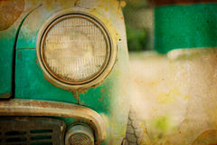 Picture of a old car Royalty Free Stock Photo