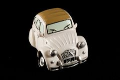 Car Statuette. Picture of an Old Classic Car Statuette royalty free stock photography