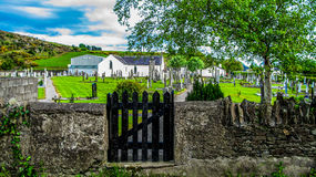 Old Country Church grave yard Royalty Free Stock Photography