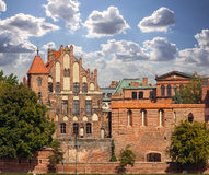 Picture of the old Torun town in Poland Stock Photography