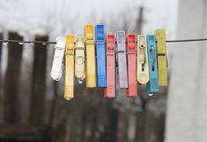 clothespin Stock Image