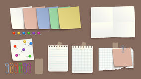 Picture of paper torned Royalty Free Stock Photos