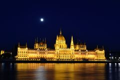 Parliament at Budapest Stock Images