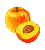 Picture of peaches Royalty Free Stock Image