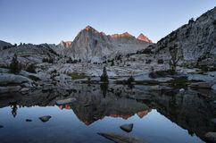 Picture Peak Reflection stock images