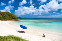 Picture perfect beach at Caribbean Royalty Free Stock Images