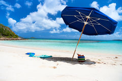 Picture perfect beach at Caribbean Royalty Free Stock Photo