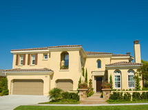 Picture Perfect Home in Nice Community Royalty Free Stock Photography