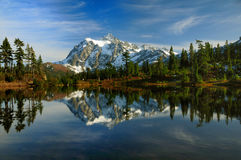 Picture Perfect Mt Shuksan Royalty Free Stock Photo