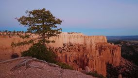 Picture perfect scenery and landscape at Bryce Canyon in Utah. USA 2017 stock footage