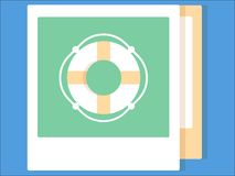 Picture of a photo album vector illustration