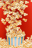Picture of popcorn blast Royalty Free Stock Photo