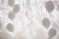 Picture presenting a ballon background Royalty Free Stock Images