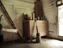 Picture presenting old rustic tools Stock Photography