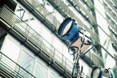 Picture presenting the street reflector Stock Photography