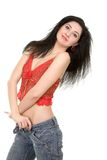 Picture of pretty woman Royalty Free Stock Images