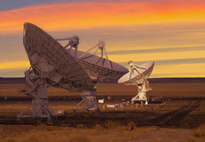Picture of Radio Telescopes Royalty Free Stock Photos