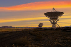 Picture of Radio Telescopes Royalty Free Stock Photo