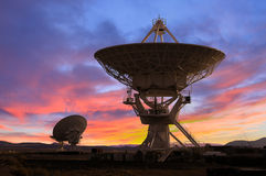 Picture of Radio Telescopes Royalty Free Stock Images