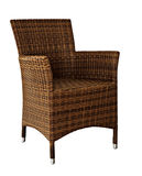 Picture of rattan Wicker Chair Royalty Free Stock Photos