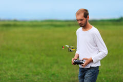 RC model hobby (focus on RC model) Royalty Free Stock Photography