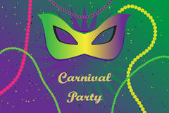 Picture ready for use in carnival thematic Royalty Free Stock Image