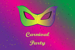 Picture ready for use in carnival thematic Stock Photos