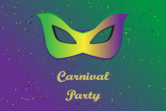 Picture ready for use in carnival thematic Stock Image