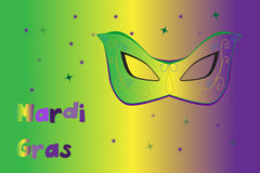 Picture ready for use in Mardi Gras thematic Royalty Free Stock Images