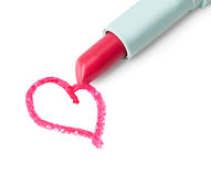 Picture of  red heart. Stock Photo
