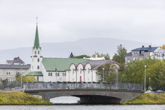 Picture of Reykjavik downtown. Stock Photography