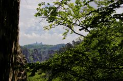 Rock City - Castle - Trosky royalty free stock images