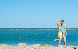 Picture of romantic young couple. Stock Photos