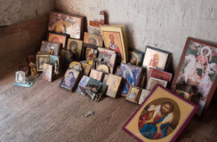 Picture  of saints, iconography Stock Photos