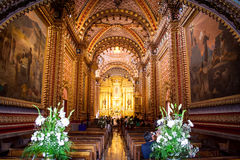 Picture of San Diego´s church, at Morelia Michoacan Mexico Stock Photography