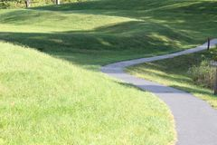 Serpent Mound Ohio. A picture of Serpent Mound in Ohio royalty free stock photo