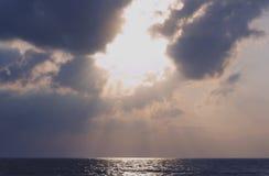 Picture set Landscape sunrise Songkhla Sea. Landscape sunrise or sunset at the songkhla Sea stock photos
