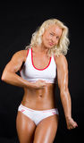 Picture of sexy bodybuilder Royalty Free Stock Images