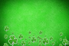 Picture of shamrock for st patricks day Stock Photo